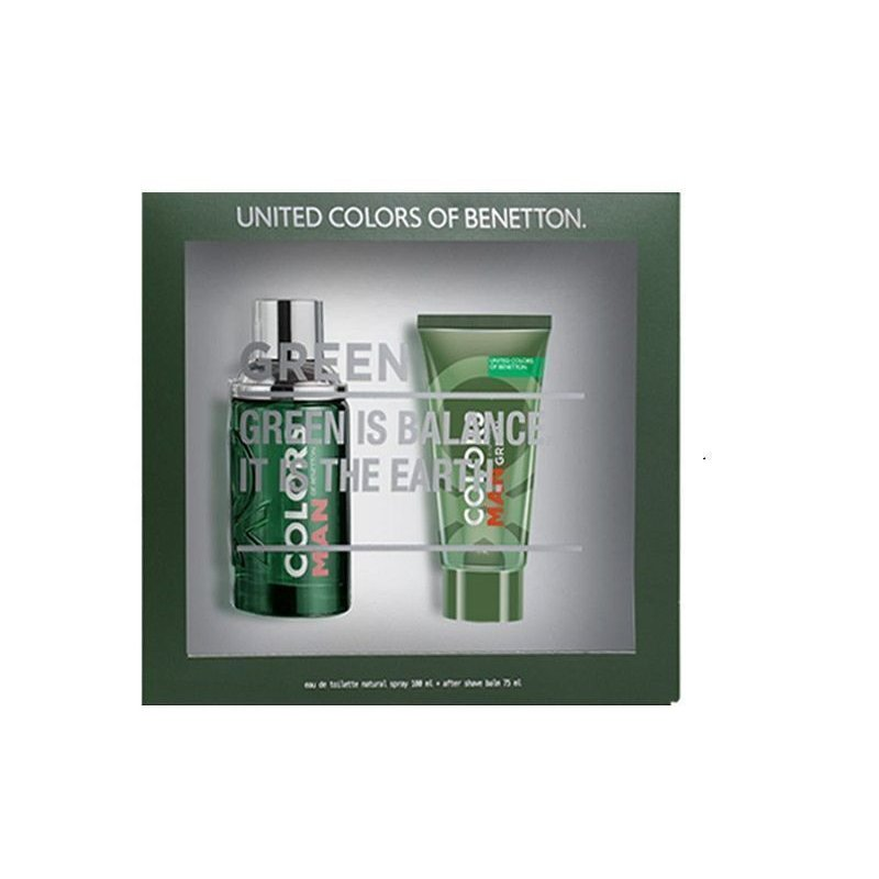 Benetton Colors Green 100ml Mas After Shave