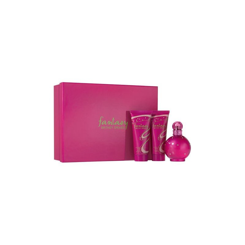 Fantasy 100ml Edp Set 3pcs Dama