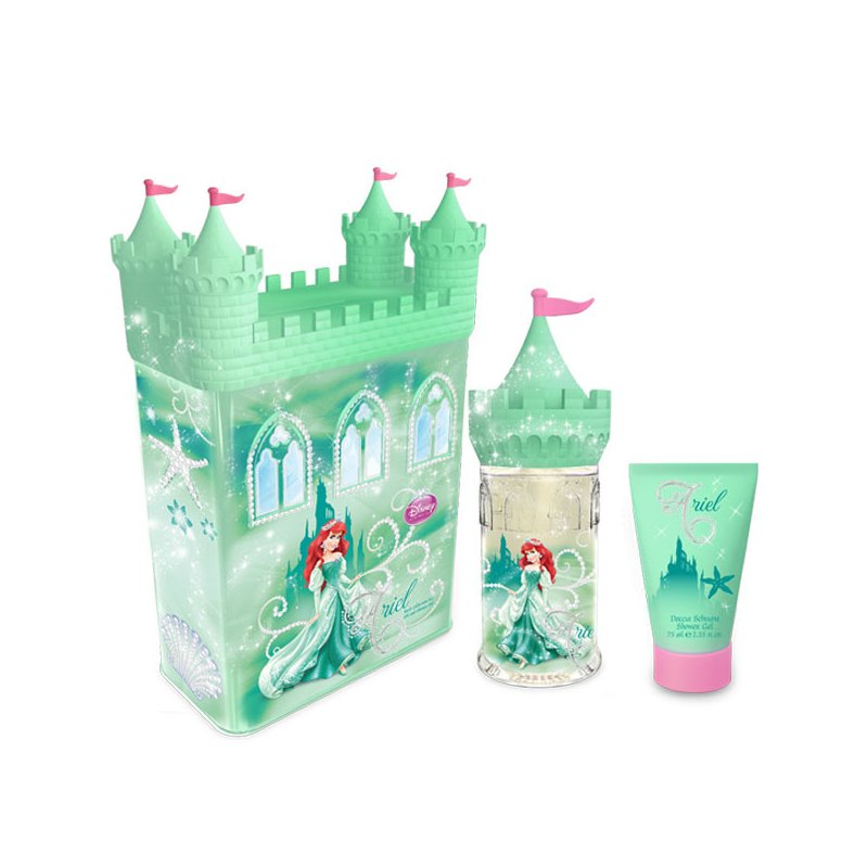 Ariel Tin Castle 50Ml Set