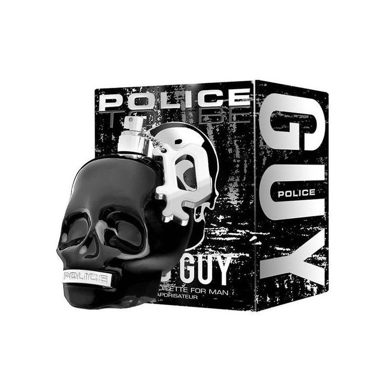 Police To Be Bad Guy For Man Edt 125Ml