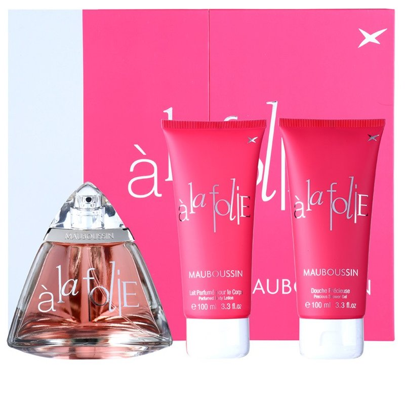 Mauboussin A La Folie 100Ml Set 3Pcs